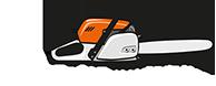 Péter Láncfűrész Logo